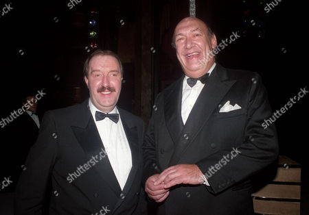 British Comedy Awards Gorden Kaye and Bernard Bresslaw