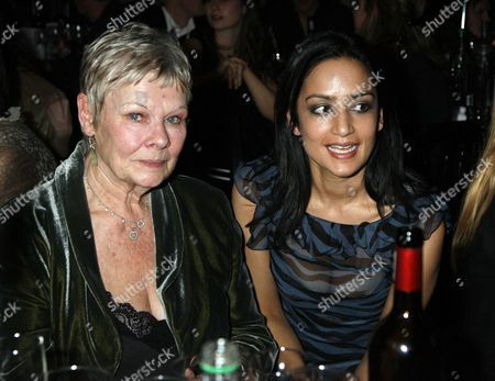 British Independent Film Awards (bifa's) at the Roundhouse Camden Dame Judi Dench and Tannishtha Chatterjee