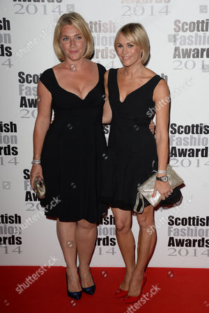 2014 Scottish Fashion Awards at 8 Northumberland Tabitha Somerset Webb and Jenni Falconer