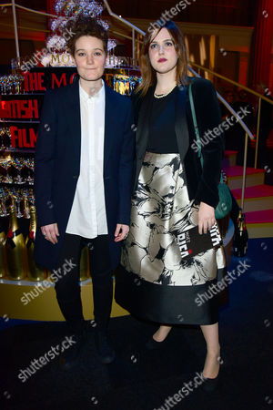 British Independent Film Awards (bifa) at Old Billingsgate Market Charlie Covell and Chanya Button