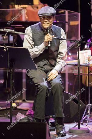 Editorial image of Al Jarreau in concert, Monaco, France - 29 Nov 2016