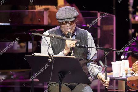 Editorial photo of Al Jarreau in concert, Monaco, France - 29 Nov 2016