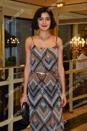 Stock Photo of 2016 Annual Asian Awards at the Grosvenor House Hotel Rakhee Thakrar