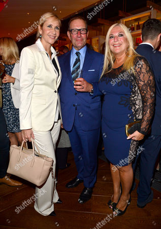 21st Anniversary Party For Roar at the Avenue St James Tania Bryer Richard Desmond and Vanessa Feltz