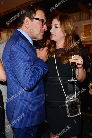21st Anniversary Party For Roar at the Avenue St James Richard Desmond and Karren Brady