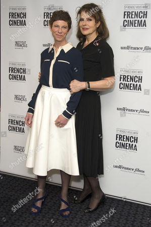 'Bright Days Ahead' Premiere During the 5th Rendez-vous with French Cinema at the Curzon Soho Director Marion Vernoux and Fanny Ardant