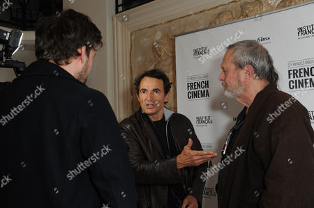 '9 Month Stretch' Premiere During the 5th Rendez-vous with French Cinema at Cine Lumiere South Kensington Director Albert Dupontel with Terry Gilliam