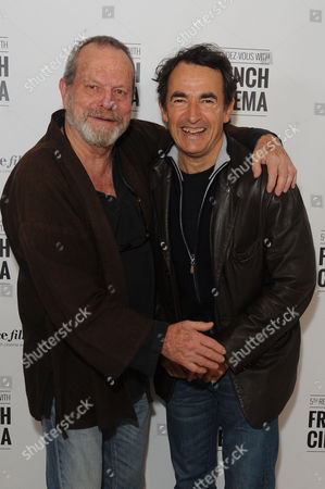 '9 Month Stretch' Premiere During the 5th Rendez-vous with French Cinema at Cine Lumiere South Kensington Terry Gilliam with Director Albert Dupontel