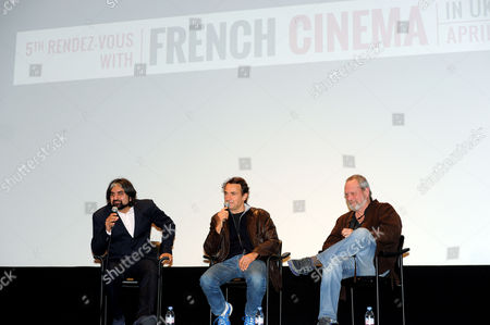 '9 Month Stretch' Premiere During the 5th Rendez-vous with French Cinema at Cine Lumiere South Kensington Director Albert Dupontel and Terry Gilliam Take Part in A Q&a After the Screening