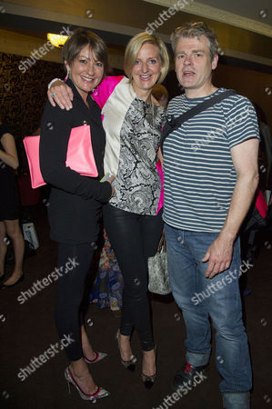 A Curious Night at the Theatre - A Special Fundraising Gala in Aid of Charities Ambitious About Autism and the National Autistic Society at the Apollo Theatre Shaftesbury Avenue Holly Aird Director Marianne Elliott and Mark Haddon