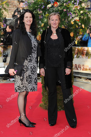 'A Little Chaos' Premiere at the Odeon; High Street Kensington Gail Egan and Andrea Calderwood (producers)