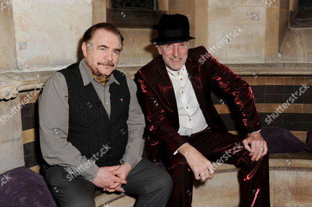 A Mighty Big if in Association with the Spring Culture Series 2013 at House of St Barnabas Richard Strange in Conversation with Brian Cox Pose Before the Event