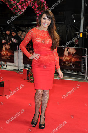 A New York Winter's Tale Premiere at the Odeon Kensington Lizzy Cundy