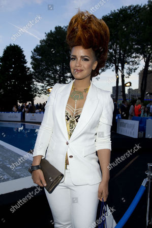 Amber Lounge Fashion Show at the Meridian Hotel Monaco During the 66th Cannes Film Festival Eva Simons