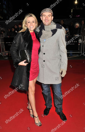 Arbitrage Uk Premiere at the Odeon Westend Lara Lewington and Martin Lewis
