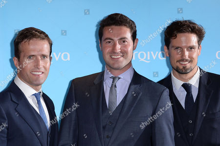 Arqiva Radio Awards at the Park Plaza Hotel Westminster Blake - Humphrey Berney Oliver Baines and Stephen Bowman