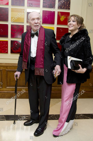 Ee British Academy Film Awards After Party at the Grosvenor House Hotel Herbert Kretzmer with His Wife Sybil