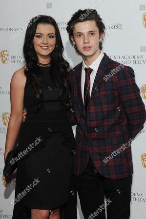 Bafta Children's Awards at the Hilton Park Lane Shannon Flynn and Ceallach Spellman