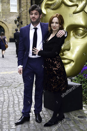 Bafta Craft Awards at the Brewery Chiswell Street Katherine Parkinson with Her Husband Harry Peacock