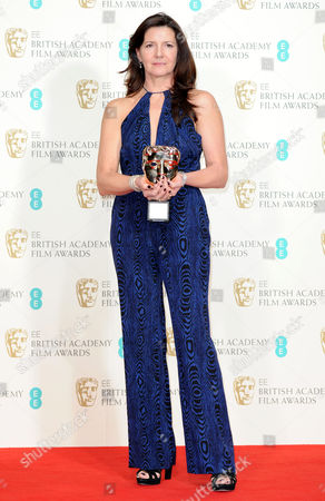 Ee 2015 British Academy Film Awards Press Room at the Royal Opera House Christine Langan (bbc Films) Winner of Outstanding Contribution of Cinema