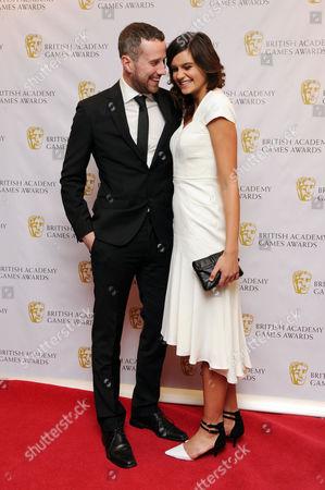 British Academy Games Awards at the Hilton Park Lane Max Rushden and Jamie