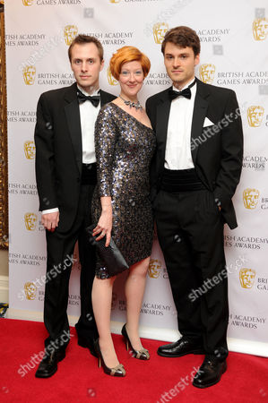 Stock Image of British Academy Games Awards at the Hilton Park Lane Robin Hunicke