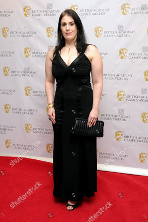British Academy Games Awards at the Hilton Park Lane Rhianna Pratchett