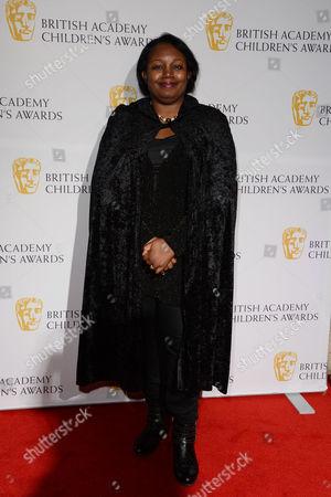 Bafta Children's Awards Arrivals at the Roundhouse Camden Malorie Blackman