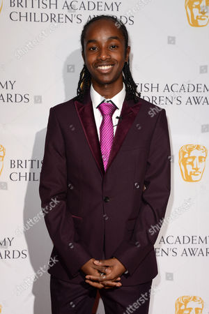 Bafta Children's Awards Arrivals at the Roundhouse Camden Akai Osei