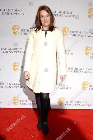 Bafta Children's Awards Arrivals at the Roundhouse Camden Sally Bretton