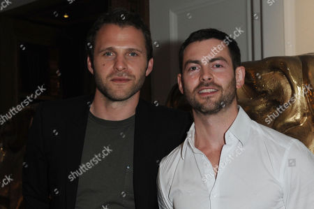 Bafta Nominees Party 2015 at the Corinthia Hotel Nick Rhys and Cameron Moore
