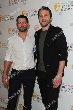 Bafta Nominees Party 2015 at the Corinthia Hotel Cameron Moore and Nick Rhys