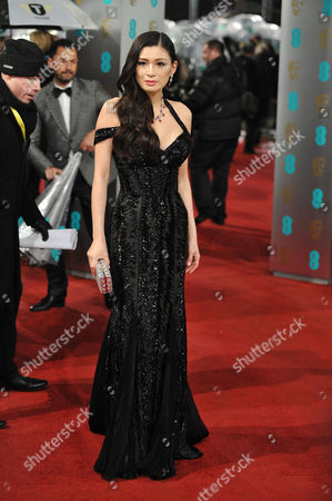 Ee British Academy Film Awards Outside Arrivals at the Royal Opera House Rebecca Wang