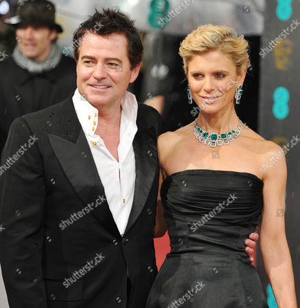 Ee British Academy Film Awards Outside Arrivals at the Royal Opera House Charles Worthington and Emilia Fox
