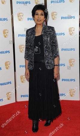 Bafta Television Awards Arrivals at the Grosvenor House Hotel Moira Stuart