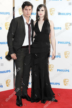 Bafta Television Awards Arrivals at the Grosvenor House Hotel Carl Barat and Edie Langley