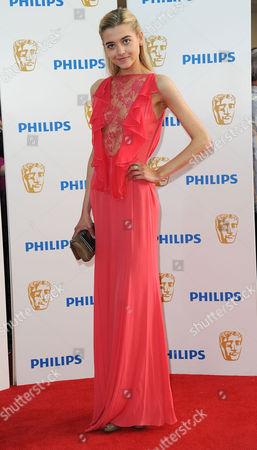 Bafta Television Awards Arrivals at the Grosvenor House Hotel Jade Farmiloe