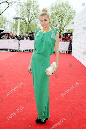 Arqiva Bafta Television Awards Vip Arrivals at the Royal Festival Hall Jade Farmiloe