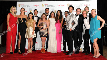 Editorial picture of Bafta Tv Awards Press Room - 12 May 2013