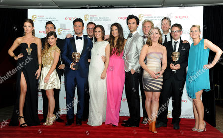 Editorial photo of Bafta Tv Awards Press Room - 12 May 2013