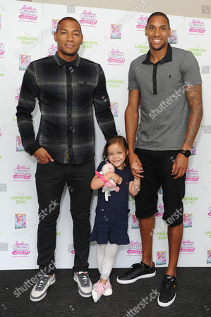 Damian and Shaun Batt with His Daughter Zara Visit Zsl London Zoo to Celebrate the Release of Barbie™ Mariposa & the Fairy Princess On Blu-ray and Dvd From August 26th