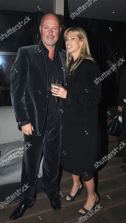 The Launch Party For Film 'Beyond the Rave' at Shoreditch House London the Film is the First Hammer Horror in 30 Years and Will Be Broadcast Exclusively On Social Network Internet Site Myspace Simon Oates & Emma Woollard