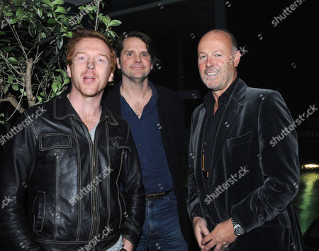 The Launch Party For Film 'Beyond the Rave' at Shoreditch House London the Film is the First Hammer Horror in 30 Years and Will Be Broadcast Exclusively On Social Network Internet Site Myspace Damien Lewis Barnaby Thompson & Simon Oates