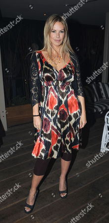 The Launch Party For Film 'Beyond the Rave' at Shoreditch House London the Film is the First Hammer Horror in 30 Years and Will Be Broadcast Exclusively On Social Network Internet Site Myspace Emma Woollard