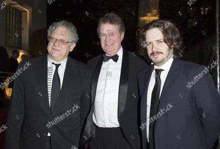 Bfi London Film Awards at Lso St Lukes Old Street During the 55th Bfi London Film Festival Peter Thompson John Madden and Edgar Wright