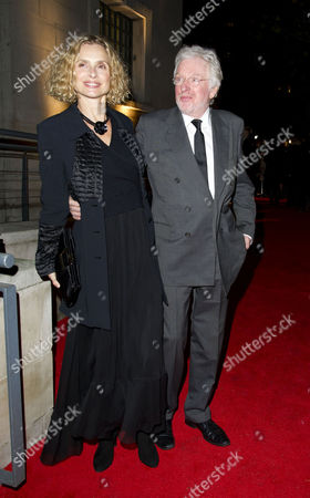 Bfi London Film Awards at Lso St Lukes Old Street During the 55th Bfi London Film Festival Hugh Hudson with His Wife Maryam D'abo