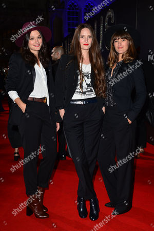 Bfi Luminous Gala Dinner at Guildhall the Staves - Jessica Staveley-taylor Camilla Staveley-taylor Emily Staveley-taylor