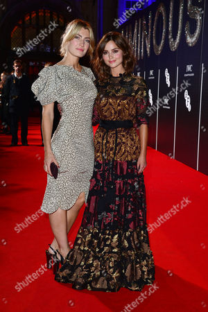 Bfi Luminous Gala Dinner at Guildhall Sally Oliver and Jenna-louise Coleman