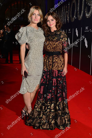 Stock Image of Bfi Luminous Gala Dinner at Guildhall Sally Oliver and Jenna-louise Coleman