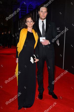 Bfi Luminous Gala Dinner at Guildhall Leah Wood with Her Husband Jack Macdonald